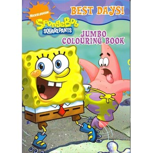 """SpongeBob"" Jumbo Colouring Book"