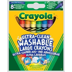 """Crayola"" Ultra-Clean Washable 8 Large Crayo"