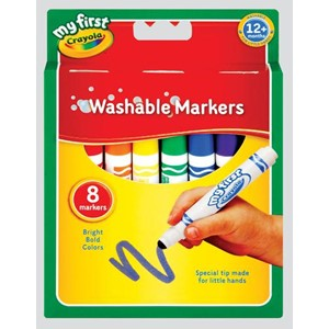 """Crayola"" Washable Markers 8 assortert"