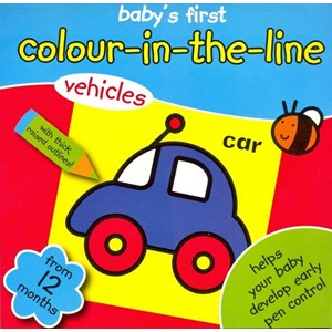 """Colour in the Line"" Vehicles"