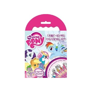 """My Little Pony"" Carry-Along Colouring Set"