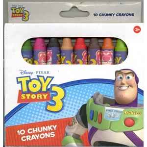 "Disney ""Toy Story 3"", Chunky Crayons"