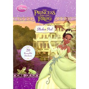 "Disney ""The Princess and the Frog"", Sticker Pad"