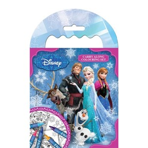 "Disney ""Frozen"" Carry Along Colouring Set"