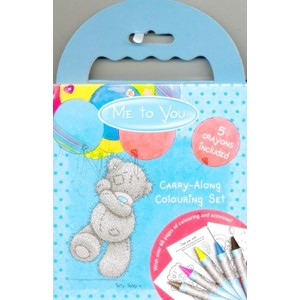 """Me to You"", Carry-Along Colouring Set"