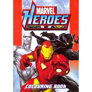 "Fargebok ""Marvel Heroes Colouring Book"""