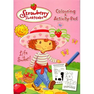 "Malebok ""Strawberry Shortcake Colouring & Activity P"