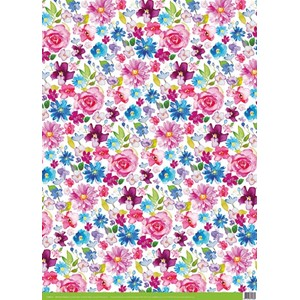 "Giftwrap ""Wild Flower Meadows"" 69,6 x 50,0 cm."