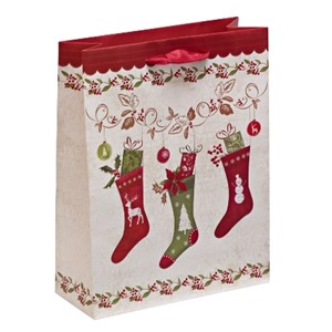 """Christmas Stockings"", Gavepose small"