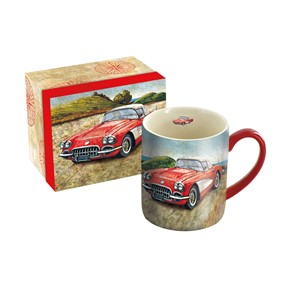 """Vintage Car"" Krus 4,14 dl (14 oz)"