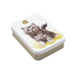 """Jo Stockdale - Best Friends"" Small Rectangular Tin"