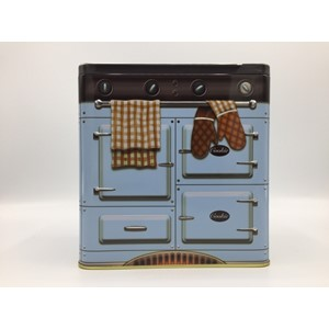 """Retro Cooker - Blue"" Metalleske"