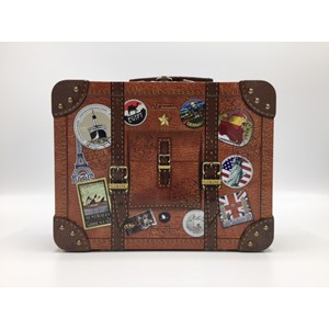 """Travel Suitcase"" Metalleske"