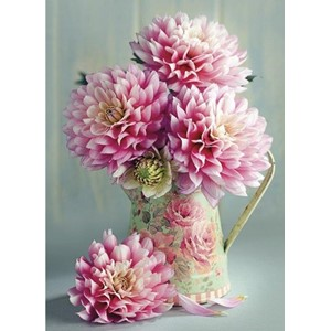 """Dahlias in Jug"""