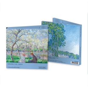"""Claude Monet - Under the Trees"" Notecards"