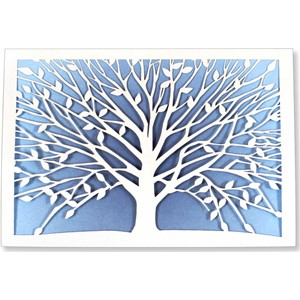 """Tree of Life Laser Cut"" Note Cards (10/11)"