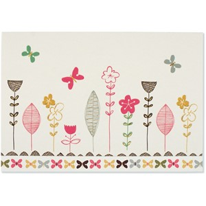 """Whimsical Blooms"" Note Cards (14/15)"