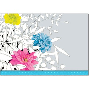 """Modern Floral"" Note Cards (14/15)"
