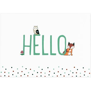 """Hello"" Note Cards (14/15)"