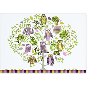 """Owl Forest"" Notecards (14/15)"