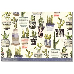 """Watercolor Succulents"" Note Cards (14/15)"