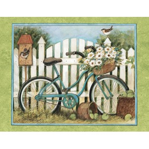 """Blue Bicycle"" Boxed Note Cards 13/13"