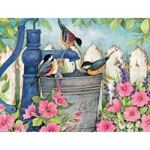 """Garden Fountain"" Boxed Note Cards 13/13"
