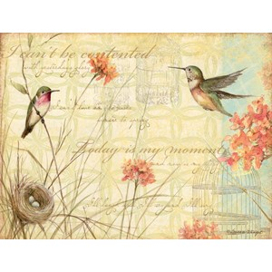 """Hummingbirds"" Assorted Boxed Note Cards 12/12"