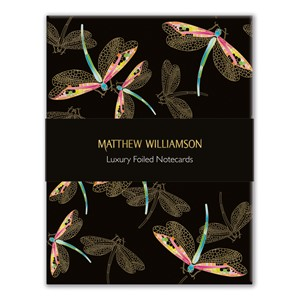 """Dragonflies and Hummingbirds"" Luxury Notecards (16/16)"