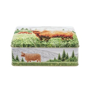 """Highland Cow"" Deep Rectangular"