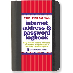 """Internet Adress & Password Logbook"""