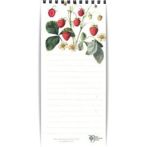 "Magnetic Shopping List ""RHS Strawberries"""
