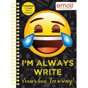 """Emoji"" A5 Soft Cover Book"
