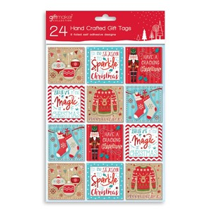 24 Hand Crafted Gift Tags