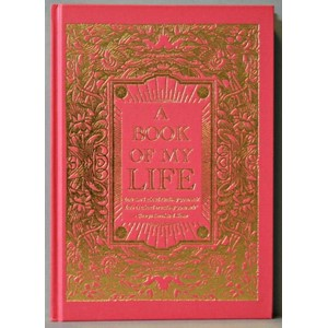 """Book of My Life"", Red A4 Cased Notebook Lin"