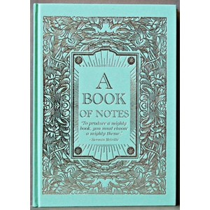 """My Book of Notes"", Tiffany Blue A4 Cased No"