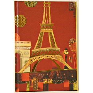 "Spirit Paris"", A5 Cased Notebook with Magnetic Closu"