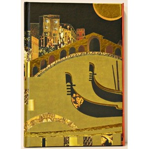 """Spirit Venice"", A5 Cased Notebook with Magn"
