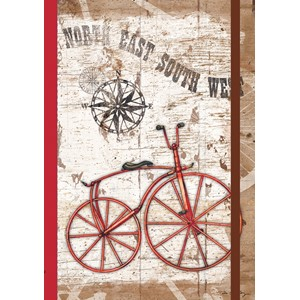 """Vintage Bike"" Classic Journal"