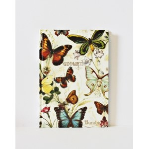 """Butterflies"" Bomo Simple Journals, A5, 120"