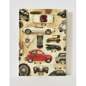 """Cars"" Bomo Simple Journals, A5, 120 sider,"