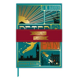 """Peter Pan Book Cover"" Deluxe Journal"