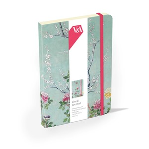 """Chinese Blossom"" Elasticated Journal"