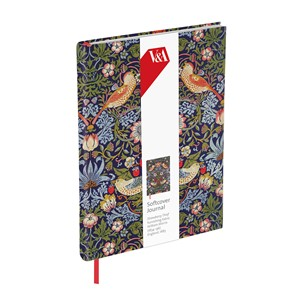 """Strawberry Thief"" Softcover Journal"