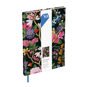 """Kilburn Floral"" Softcover Journal"
