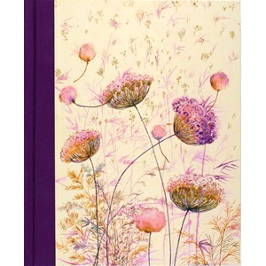 """Pink Wildflowers"" Oversize Journals"
