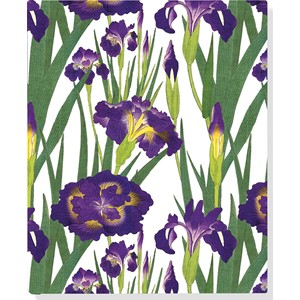 """Purple Irises"" Oversize Journal"