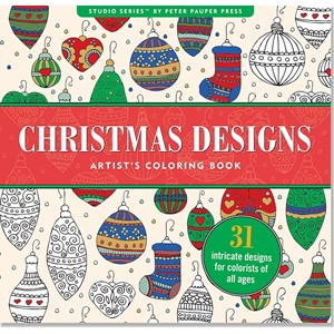 """Christmas"" Artist's Coloring Book"