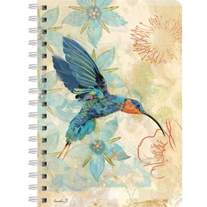 """Hummingbird of Sagrada"" Spiral Journal"