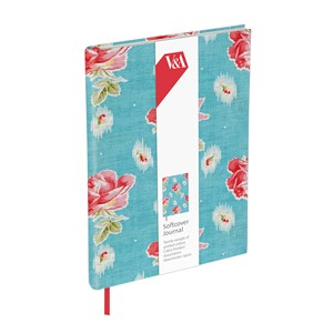 """Chintz Roses"" Softcover Journal"